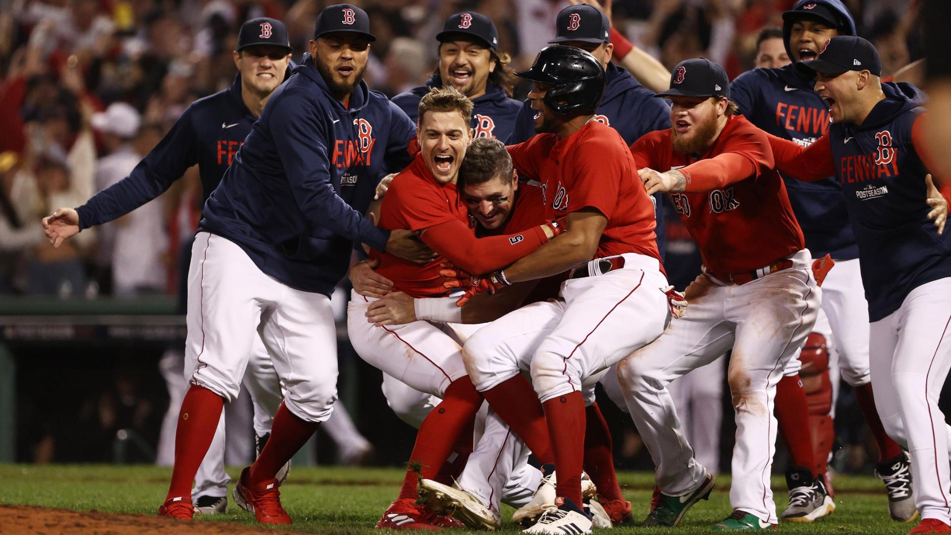 Red Sox walk off again, advance to ALCS