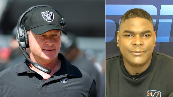 Keyshawn Johnson: Gruden 'has always been a fraud to me'