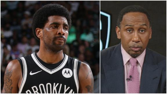 Stephen A.: 'You cannot trust Kyrie to be anything but Kyrie'