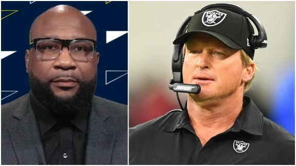 Spears: Jon Gruden is 'paying the price for being who he is'