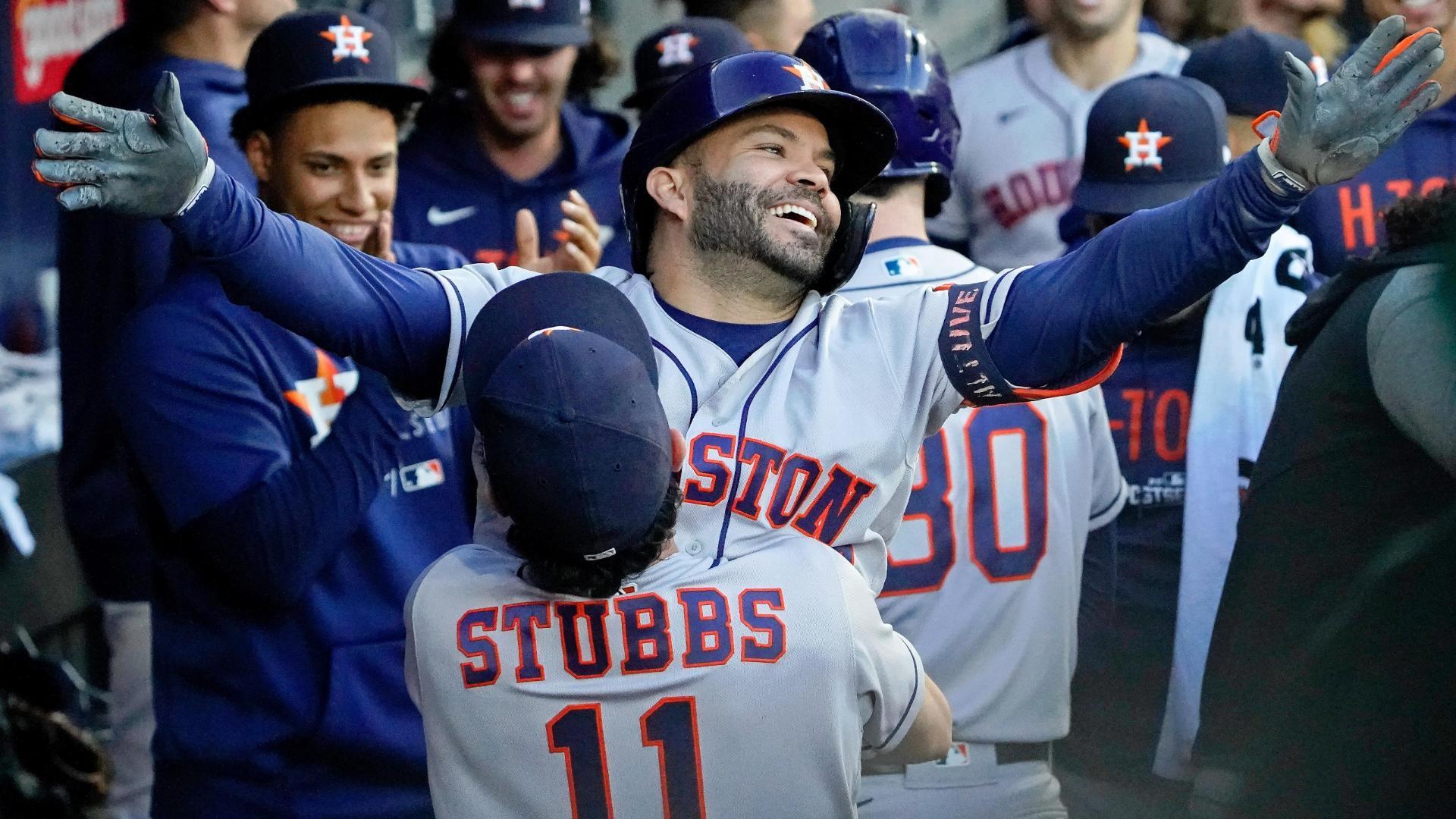 Jose Altuve blasts 3-run homer in Astros' win