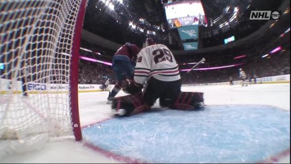 Gabriel Landeskog tallies goal vs. Blackhawks