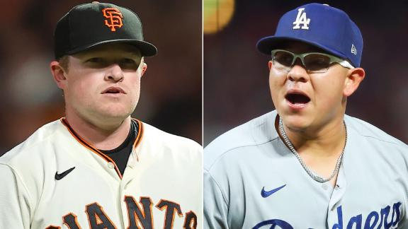 Examining the Dodgers vs. Giants' Game 5 pitching matchup