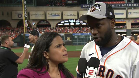 Alvarez: Astros showing we are the best team in the league
