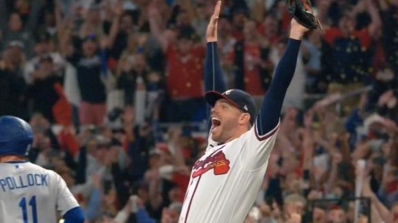Braves advance to 1st World Series since 1999 after dramatic finish