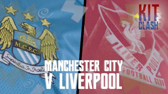 Kit Clash: Manchester City v Liverpool
