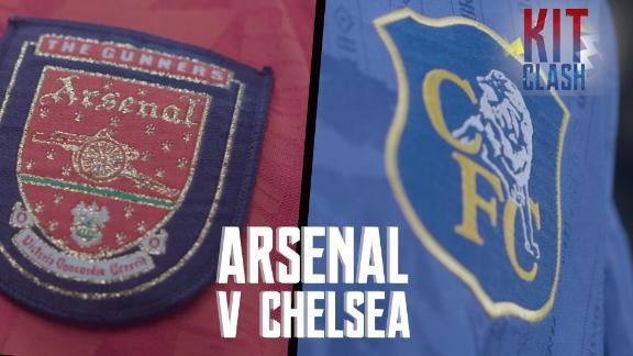 Do Arsenal have better retro kits than Chelsea?