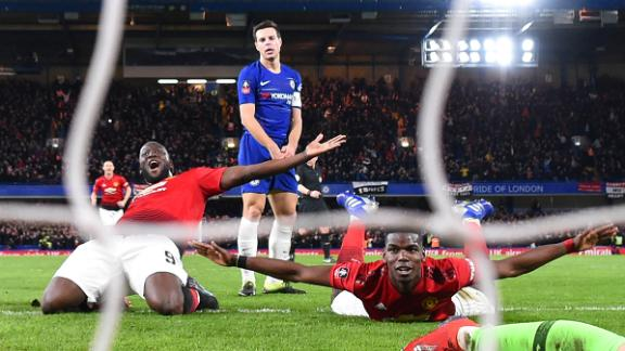 Chelsea 0-2 Man United: Blues' FA Cup defense ends