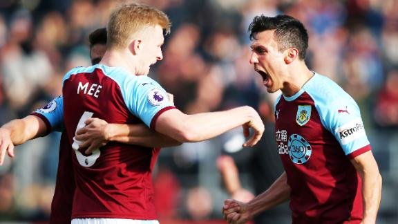 Burnley 2-1 Tottenham: Clarets shock Spurs