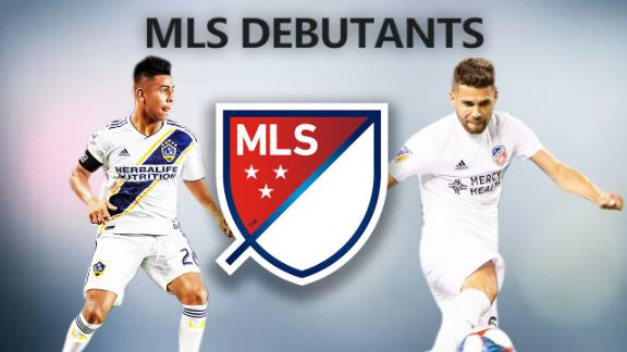 Top 5 MLS debutants from opening weekend
