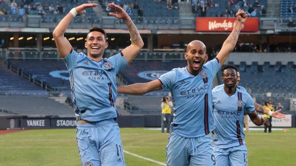 NYCFC hang on for 2nd consecutive victory