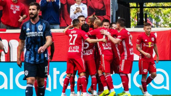 Zlatan shines but Galaxy downed by Red Bulls
