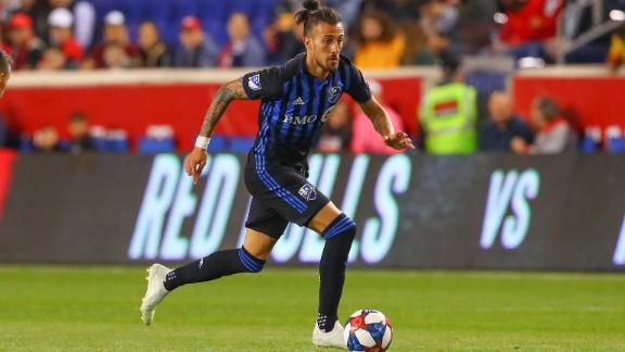 Montreal profit from late penalty against Red Bulls