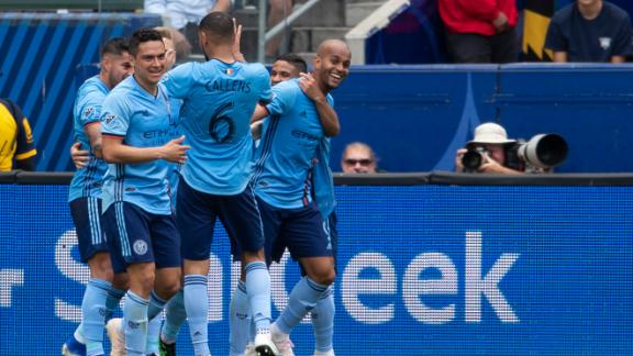 NYCFC's turnaround continues with win at Galaxy