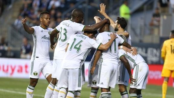 Fernandez scores 2 as Timbers down Union