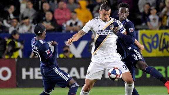 Zlatan's heroics not enough as Revs get 1st win under Arena