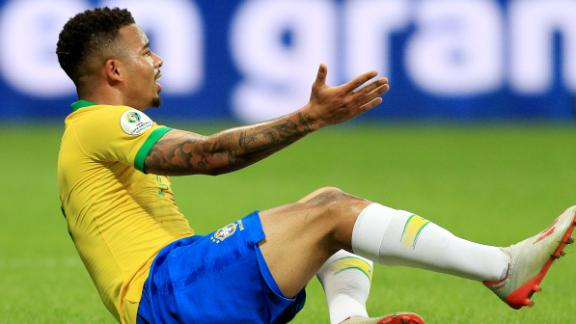 Jesus, Coutinho denied by VAR in draw vs. Venezuela