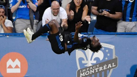 Okwonkwo puts Montreal back on top with stunning volley