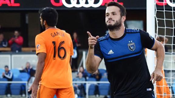 Vako nets double to get San Jose back to winning ways