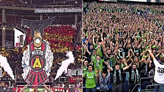 Seattle & Atlanta the showpieces of MLS culture
