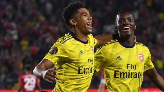 Arsenal leave it late in ICC victory over Bayern