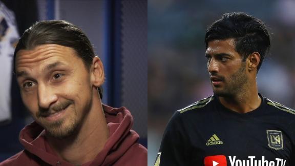 Zlatan says he's better than Vela 'by far'