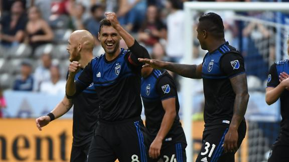 Quakes continue winning ways vs. Vancouver