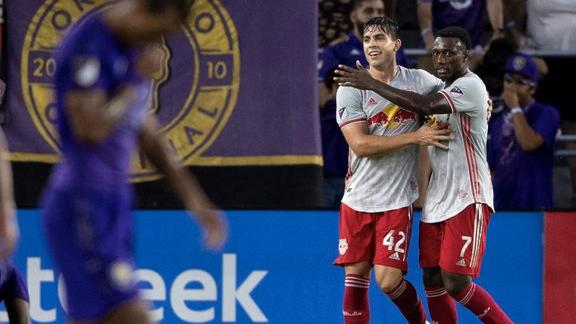 Orlando City hit woodwork 3 times in loss to Red Bulls
