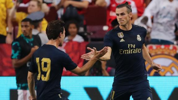 Bale steals headlines in Real Madrid's win over Arsenal