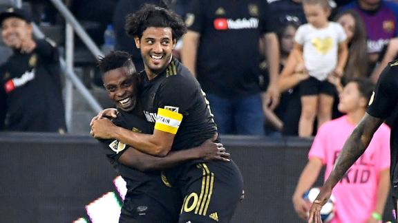 Vela pulls the strings in LAFC win over Red Bulls