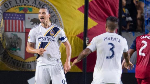 Zlatan's brace turns around the Galaxy's fortunes