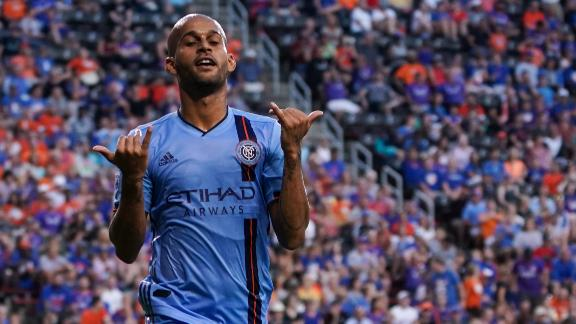 Heber and Castellanos lead NYCFC to dominant win in Cincy