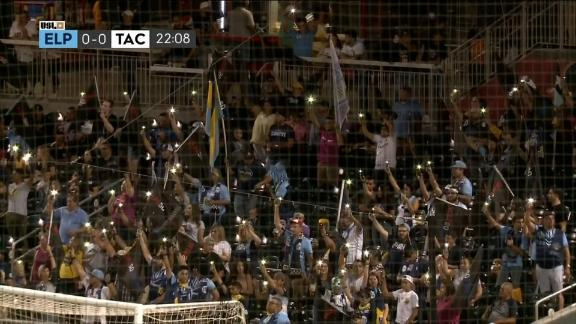 El Paso Locomotive fans honor victims of mass shooting