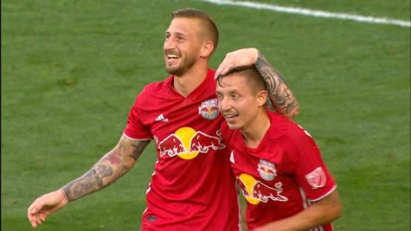 Marc Rzatkowski's rocket volley puts Red Bulls on top