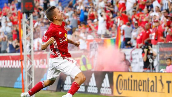 Marc Rzatkowski scores a stunner for Red Bulls in 1-1 draw