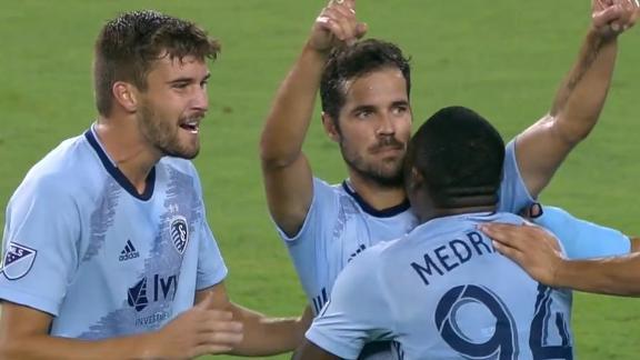 Feilhaber magic helps Sporting KC take down San Jose