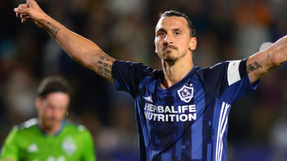 Galaxy blunder wastes Zlatan's brace vs. Sounders