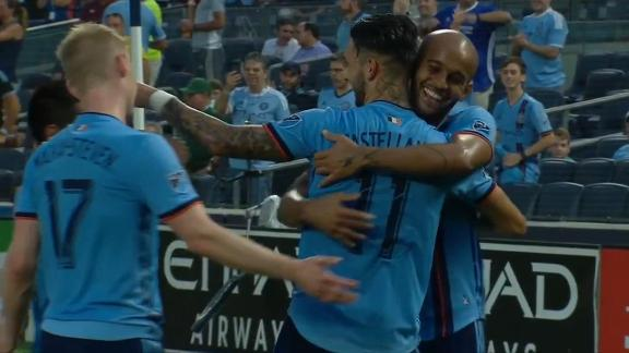 NYCFC ease past bottom-dwellers Columbus