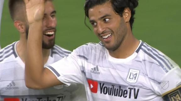 Carlos Vela beats 5 defenders for his 2nd of the night
