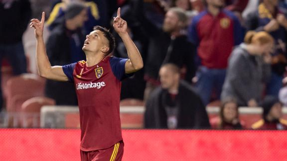 RSL climb to 2nd in the West with win over Quakes