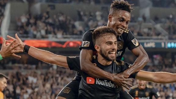 LAFC clinch Supporters' Shield in win vs. Houston