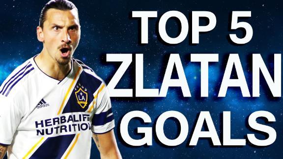 Zlatan's top 5 MLS regular season goals