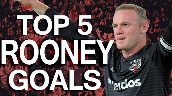 Rooney's top 5 MLS regular season goals