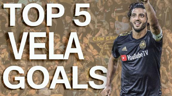Carlos Vela's top 5 MLS regular season goals