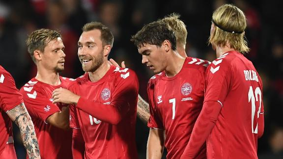 Denmark cruise to win over Luxembourg