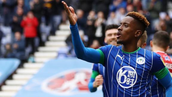 Lowe's strike seals Wigan win vs. Forest