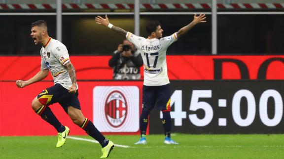Pioli's Milan denied win by Lecce
