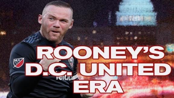 Wayne Rooney's 2 seasons at D.C. United