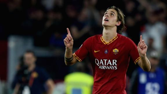 Roma beat Milan for first time in 2 years