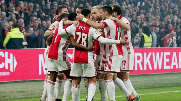 Tagliafico finishes brilliant sequence for Ajax